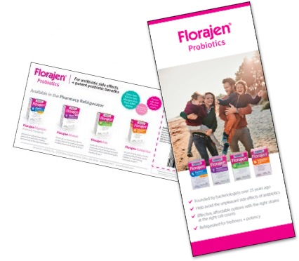 Florajen coupons and patient information